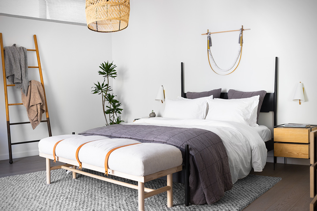 so she set out and started parachute in los angeles that now offers an array of bedding bath and lifestyle arrangements providing that iconic european - Parachute Bedding