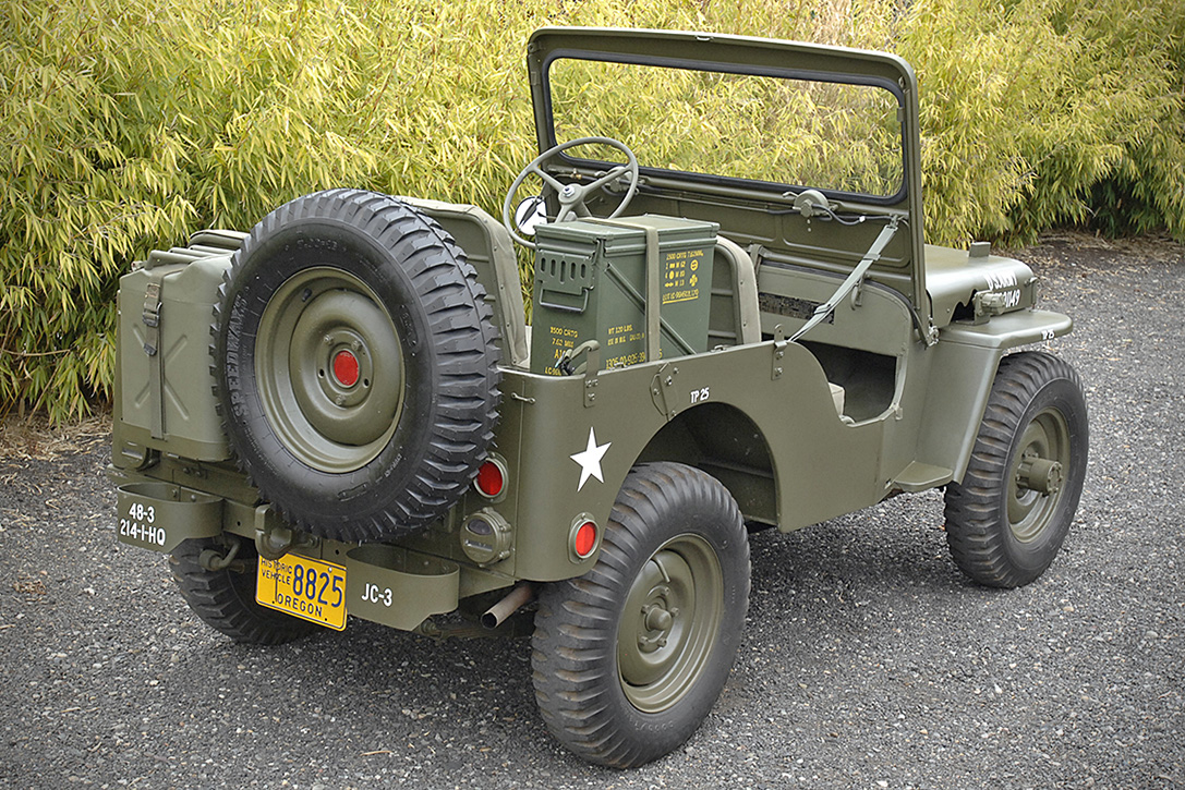 Auction Block: 1947 Willys CJ2A Jeep | HiConsumption