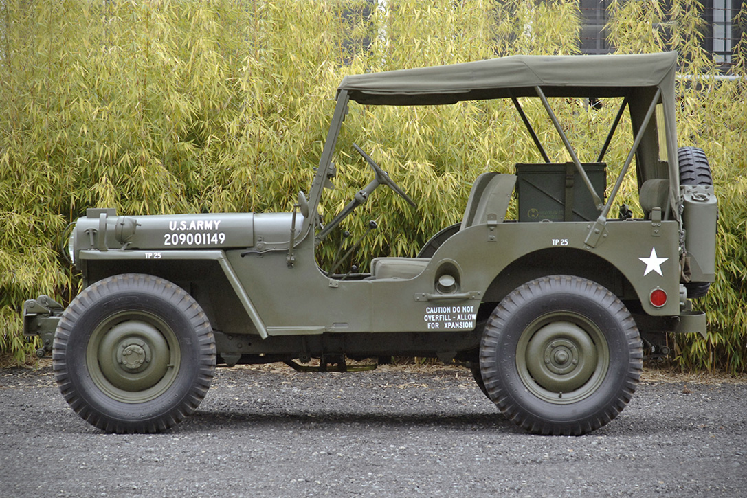 auction block  1947 willys cj2a jeep