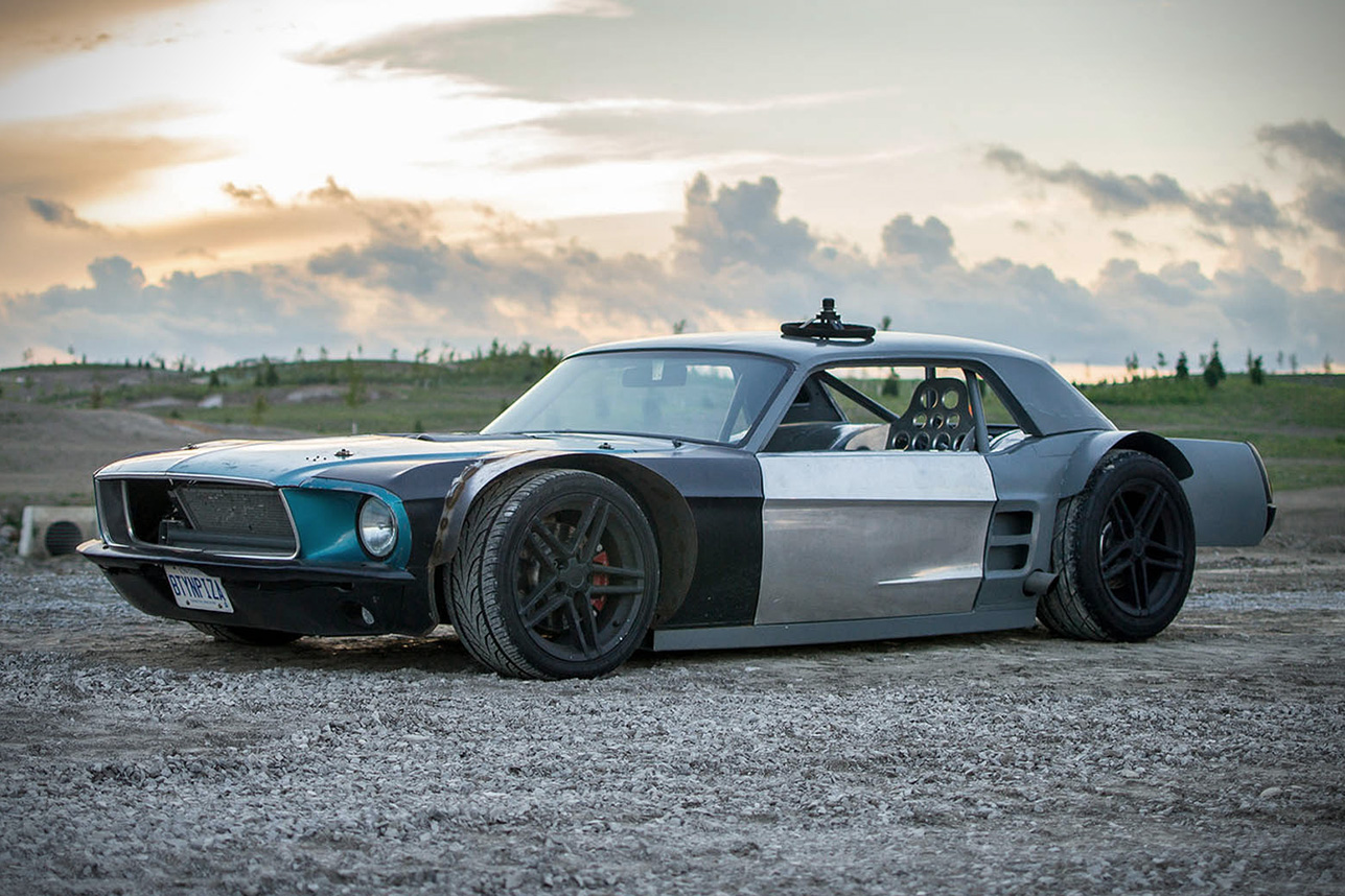 Ford Body Parts >> 1967 Ford Mustang Hot Rod | HiConsumption