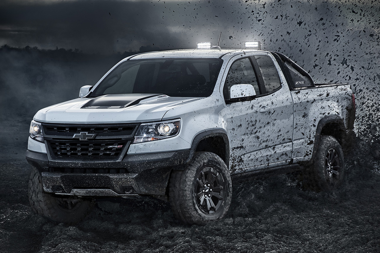 2018 Chevrolet Colorado ZR2 Midnight & Dusk Editions