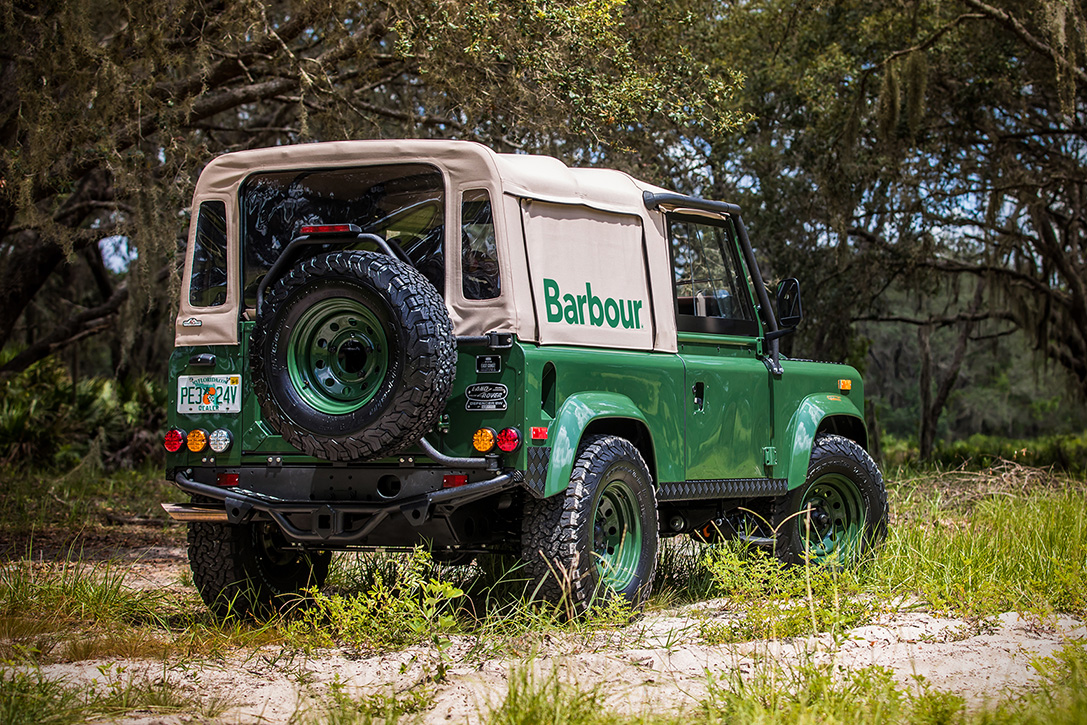 Land Rover Defender Project Barbour Hiconsumption