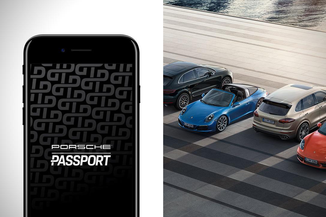 Porsche Passport Car Rental App Hiconsumption