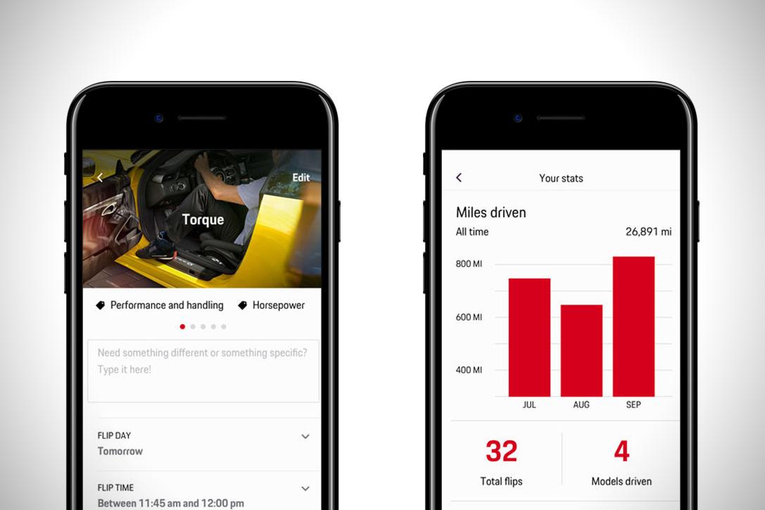 Porsche Passport Car Rental App | HiConsumption