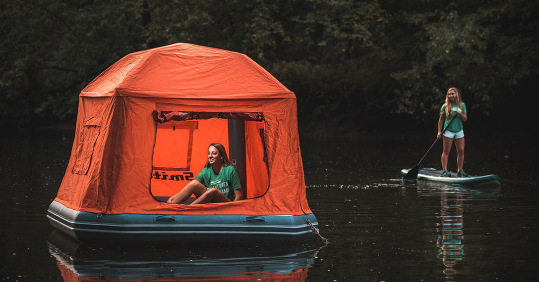 Shoal Tent Floating Shelter Hiconsumption