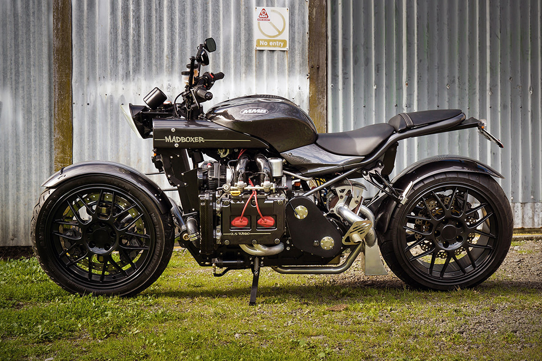 The Mad Boxer Subaru Wrx Powered Motorcycle Hiconsumption