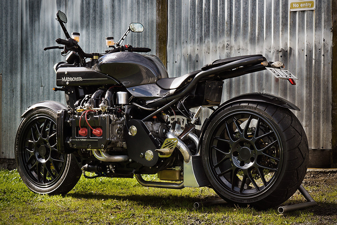 'The Mad Boxer' Subaru WRX-Powered Motorcycle | HiConsumption