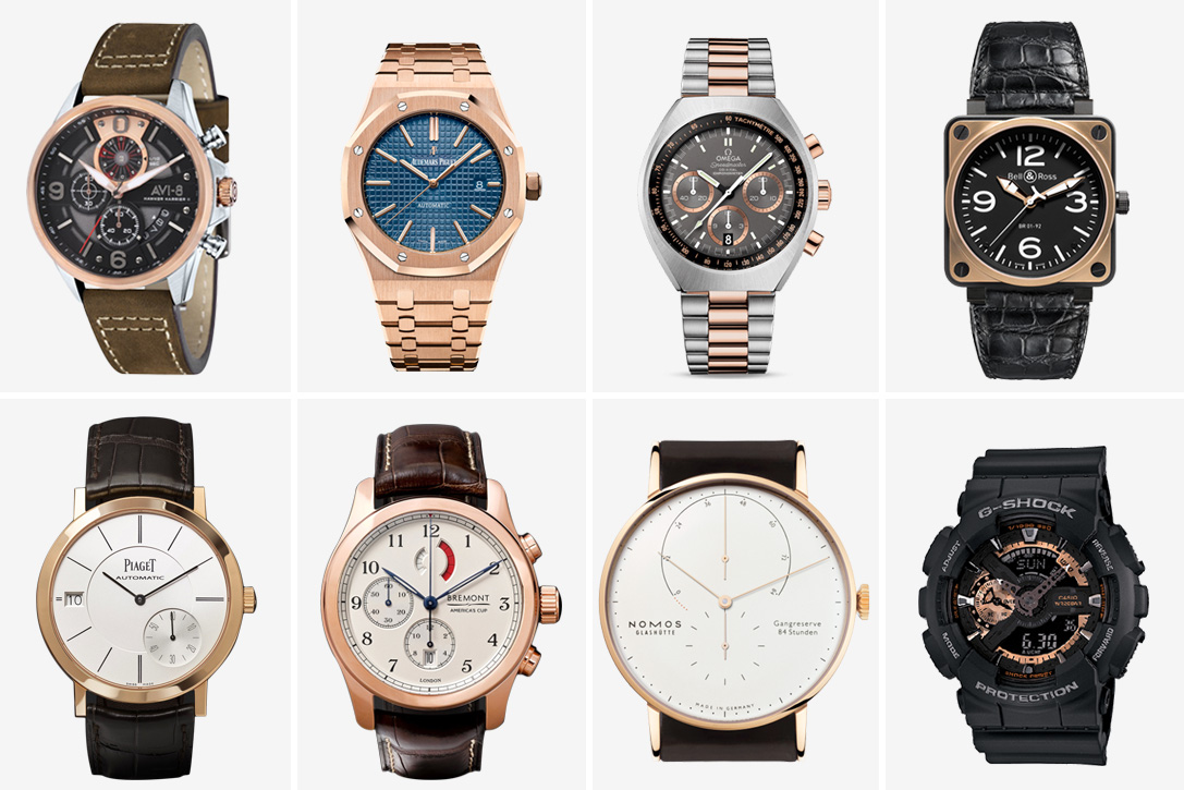 20 Best Rose Gold Watches For Men Hiconsumption