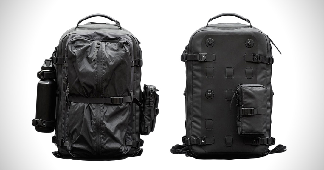 32c8b24a7211 Black Ember Citadel Modular Backpack