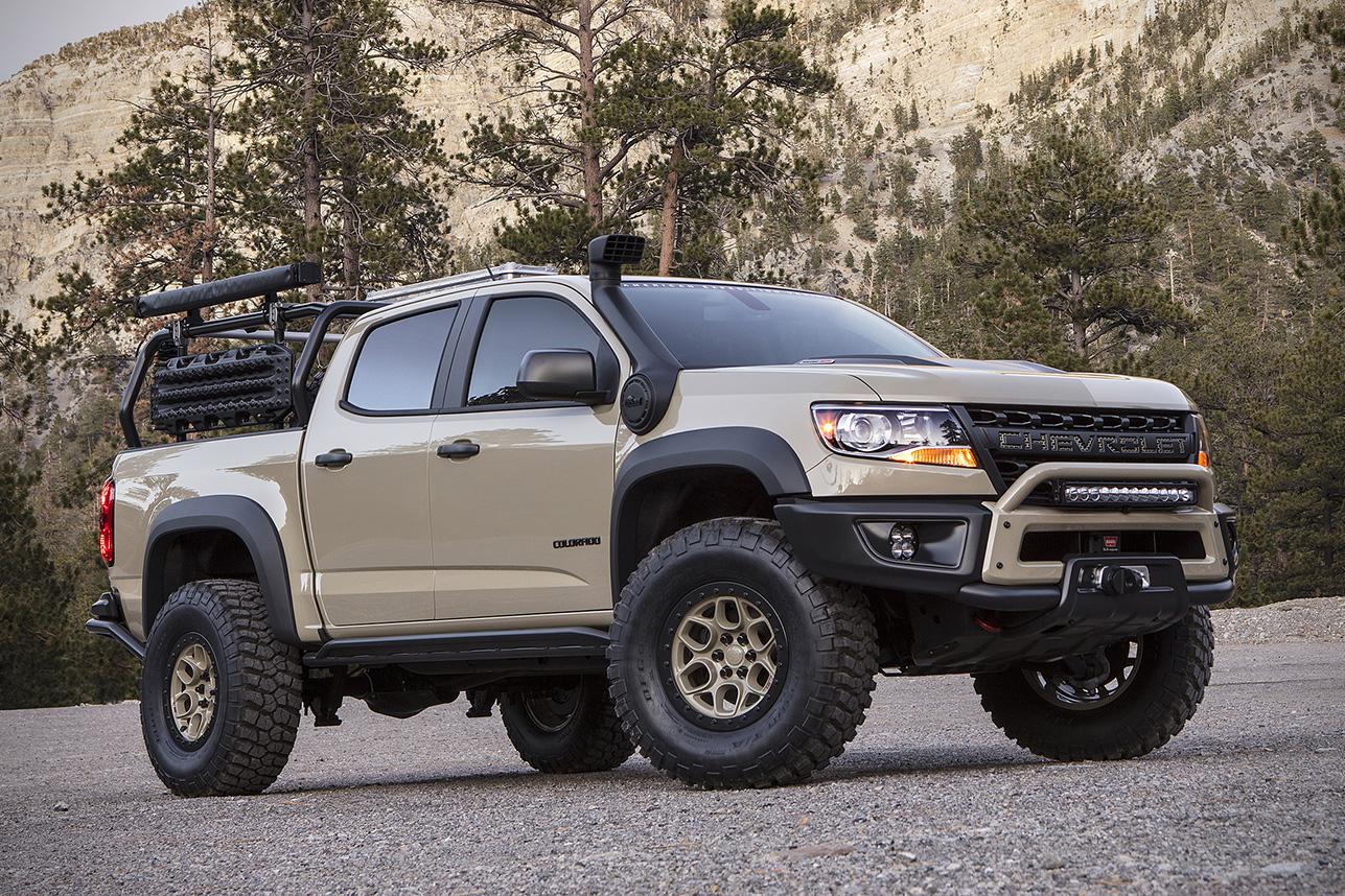 Colorado chevy colorado zr2 concept : Chevrolet Colorado ZR2 AEV Truck | HiConsumption
