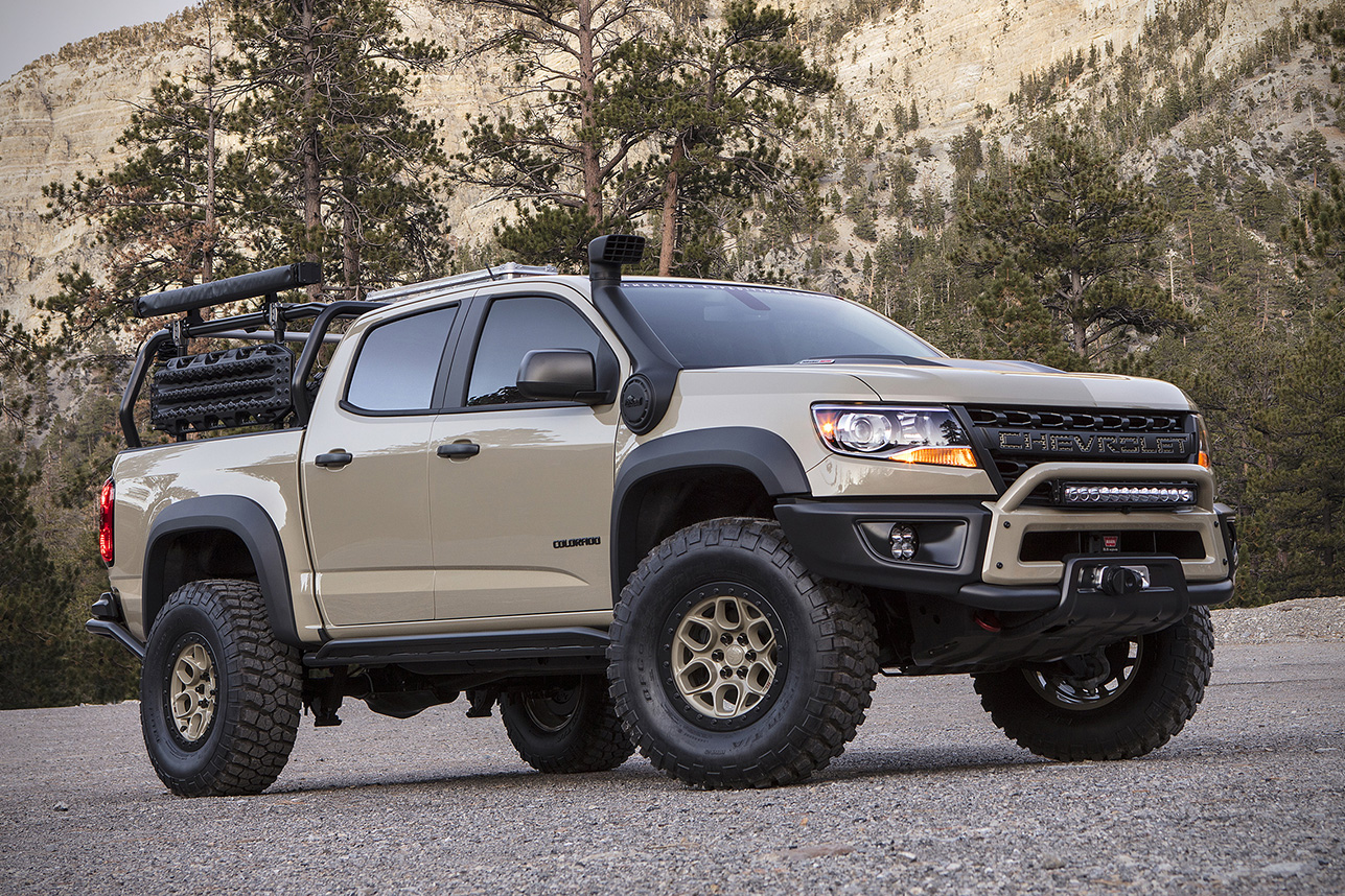 Truck chevy concept truck : Chevrolet Colorado ZR2 AEV Truck | HiConsumption