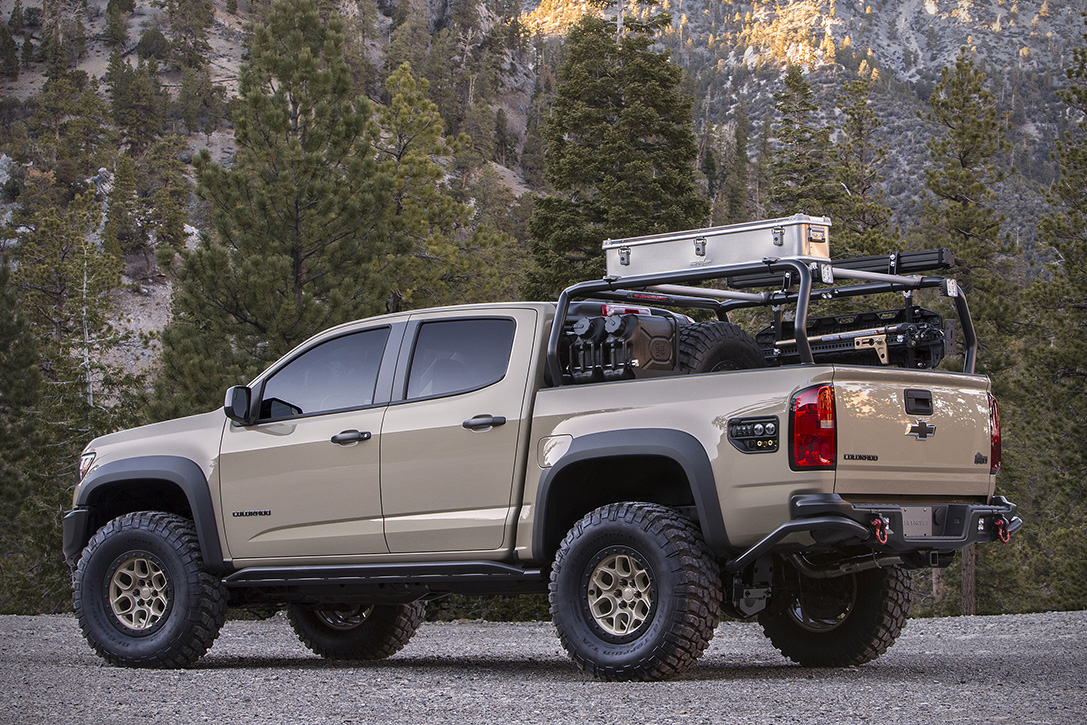 Chevrolet Colorado Zr2 Aev Truck Hiconsumption