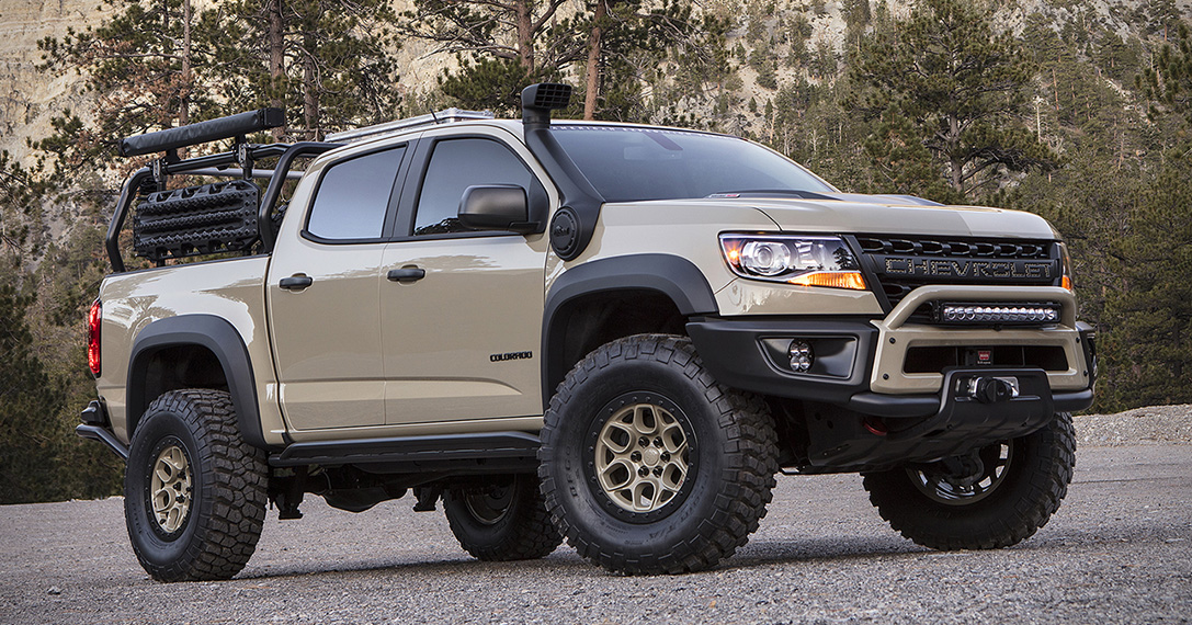 Chevrolet Colorado ZR2 AEV Truck | HiConsumption