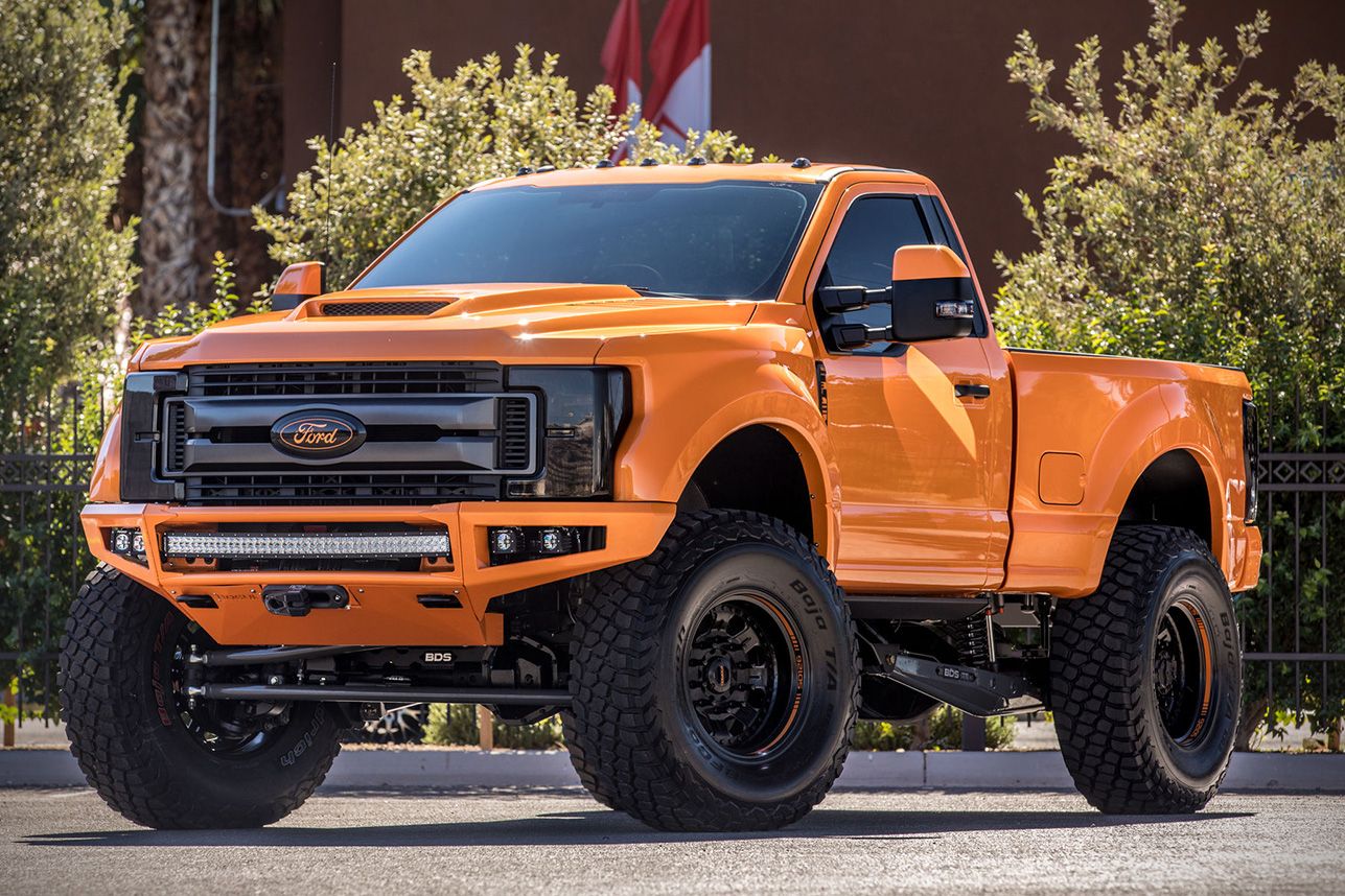 Ford f 250 project sd126 concept truck