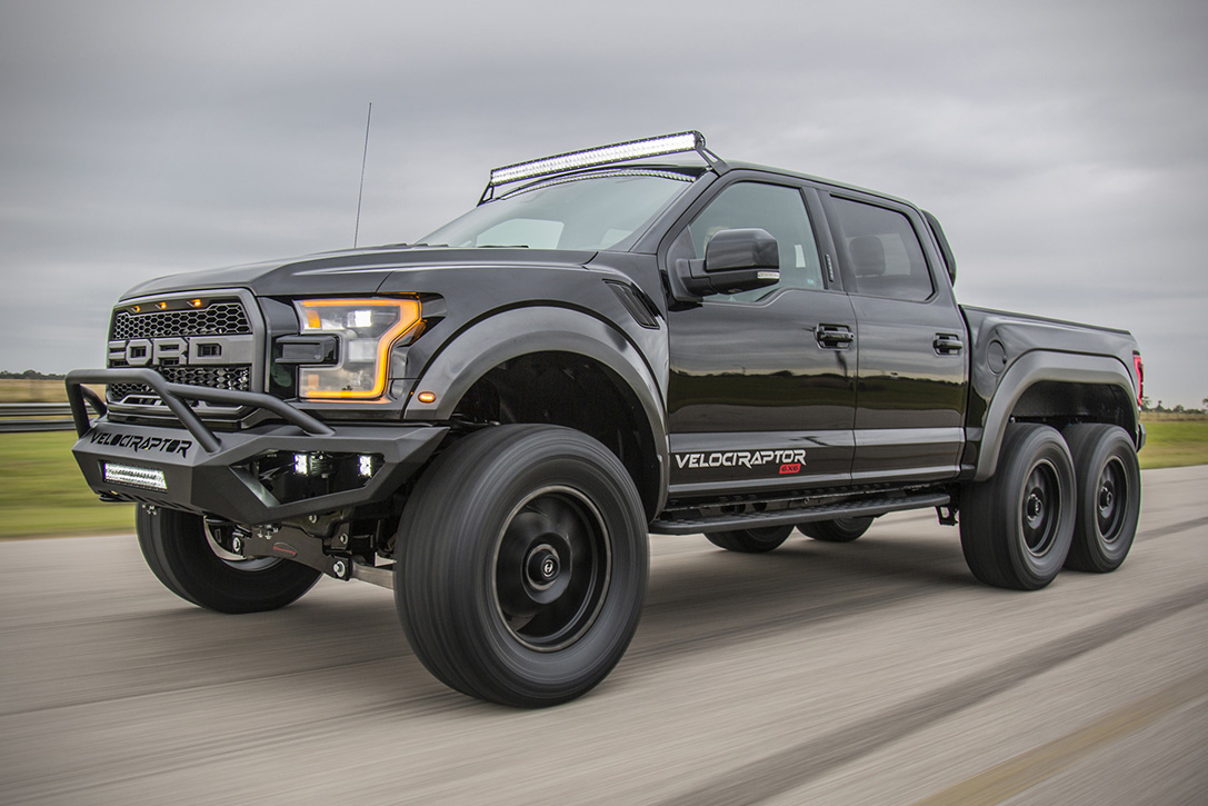 Used Car Tires >> 2018 Hennessey VelociRaptor 6x6 Ford F-150 | HiConsumption