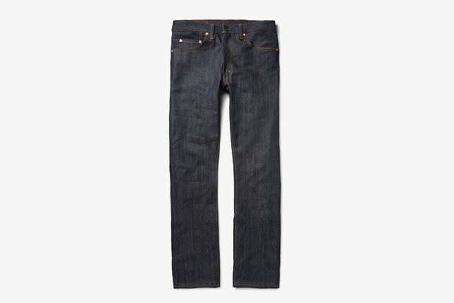 Levi s Vintage 1967 505 Slim-Fit Dry Selvedge Denim Jean. Ever find  yourself pining for the way Levi s used ... 22a8a53062321