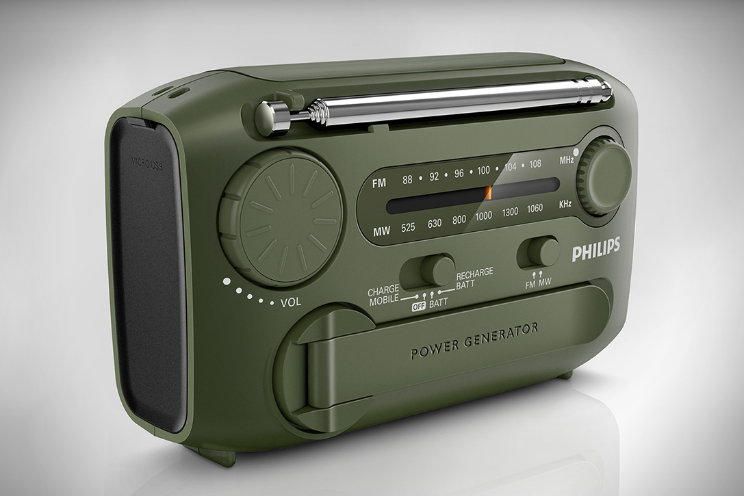 Philips Portable Survival Kit Radio | HiConsumption