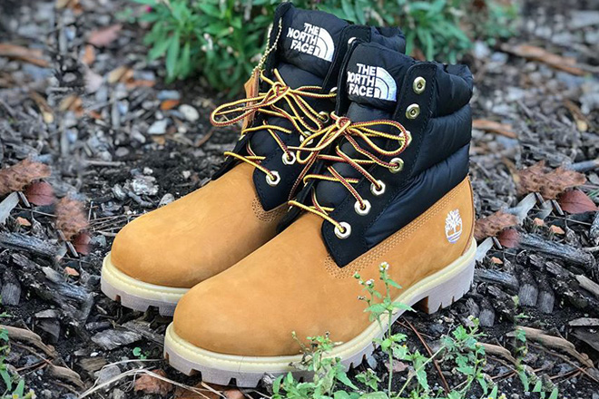 timberland north face