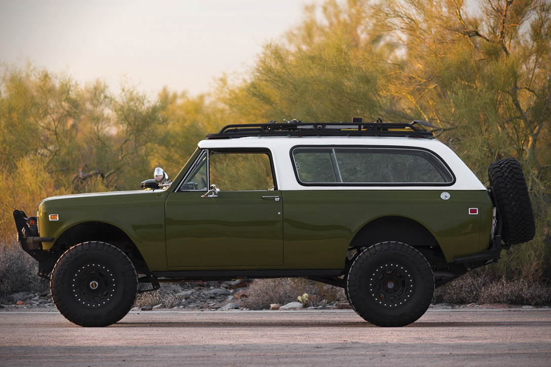 Auction Block  1977 International Scout Ii Traveler