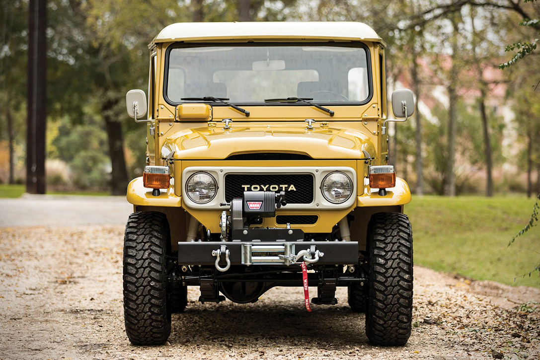 Auction Block 1979 Toyota Fj43 Land Cruiser Hiconsumption