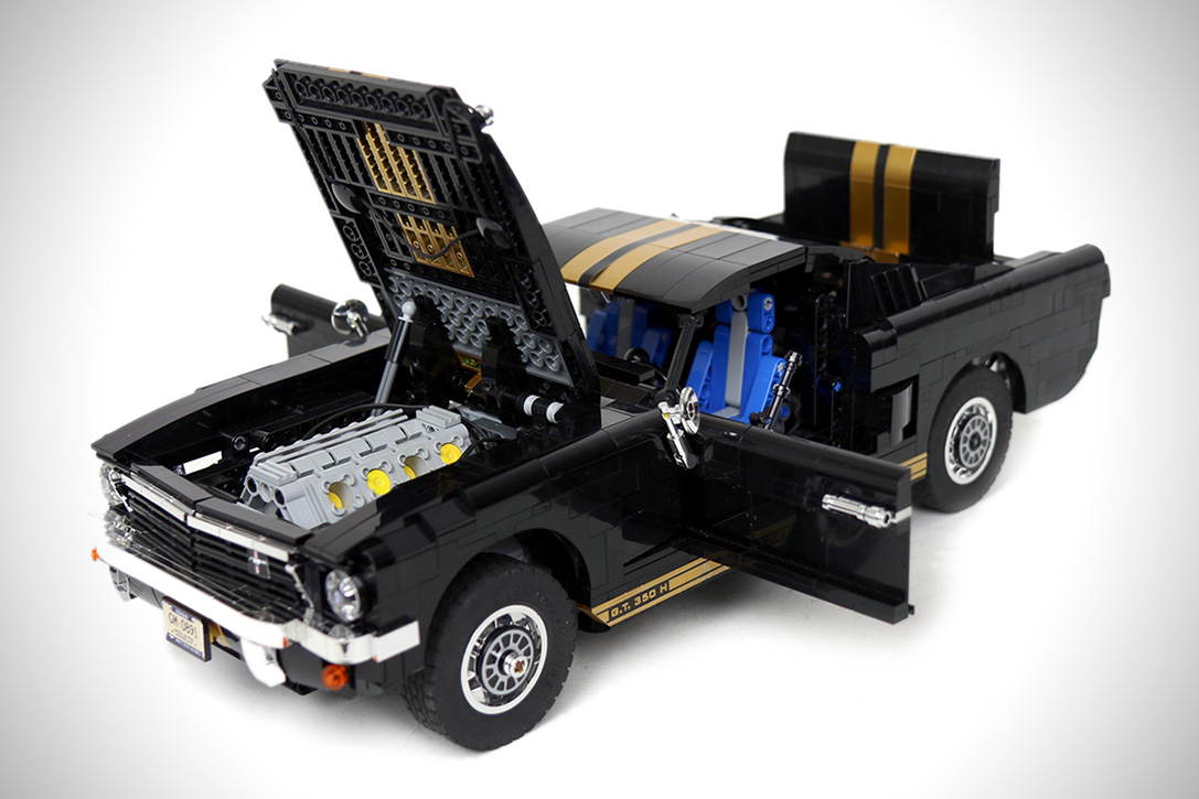 lego rc 1965 ford mustang gt 350 h hiconsumption. Black Bedroom Furniture Sets. Home Design Ideas