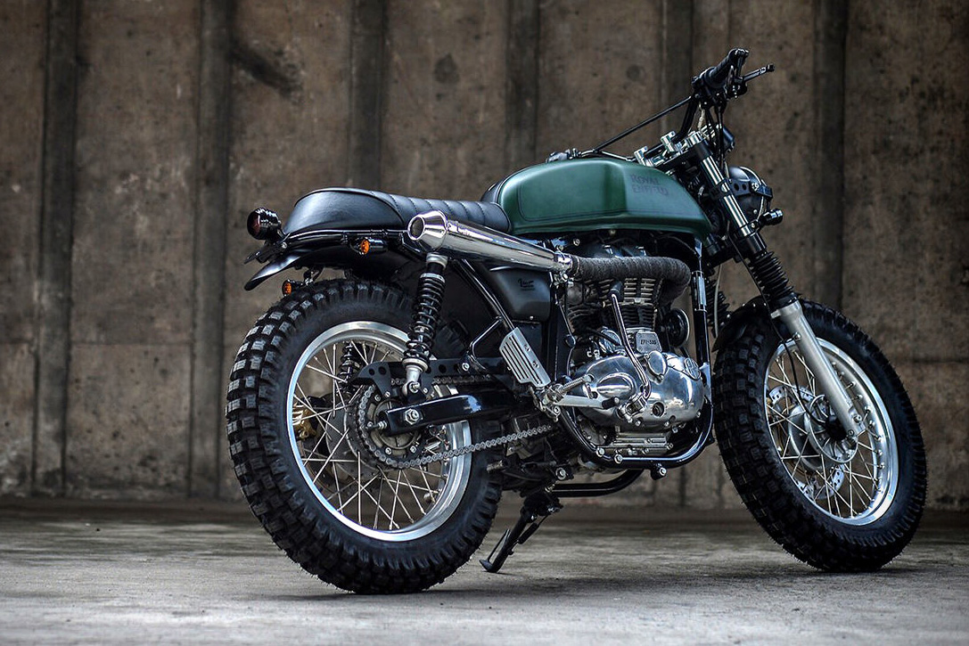 Royal Enfield Continental GT Scrambler by K-Speed ...