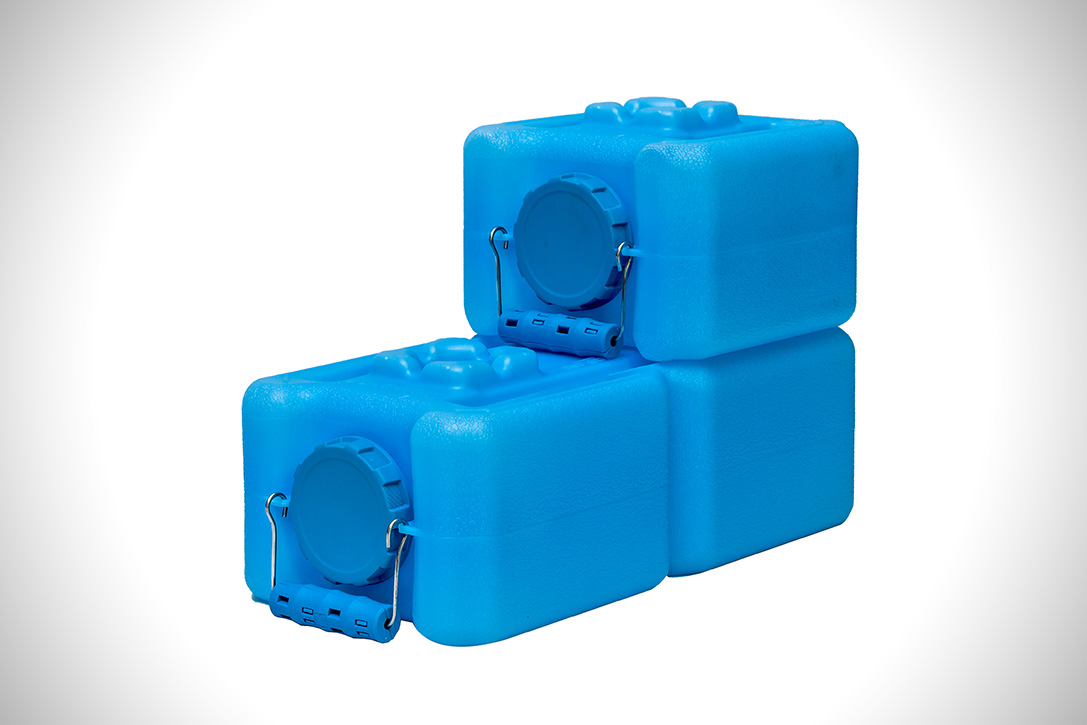 WaterBrick Stackable Water Containers HiConsumption