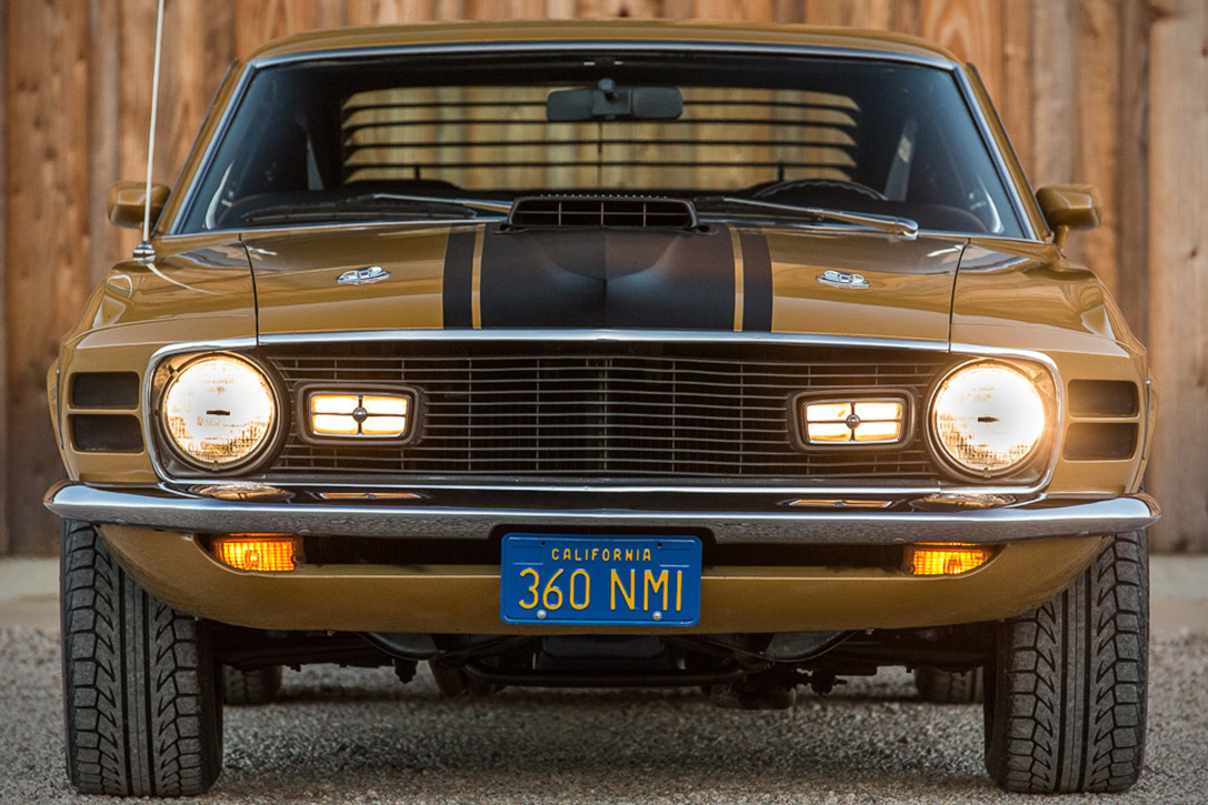 2018 Mustang Mach 1 >> Auction Block: 1970 Ford Mustang Mach 1 | HiConsumption