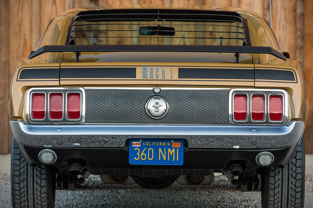 Auction Block 1970 Ford Mustang Mach 1 Hiconsumption Purchase 28000