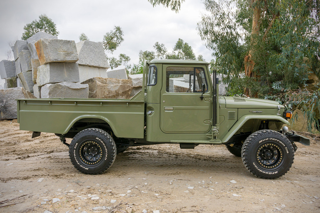 1978 Toyota Land Cruiser HJ-45 By Legacy Overland | HiConsumption