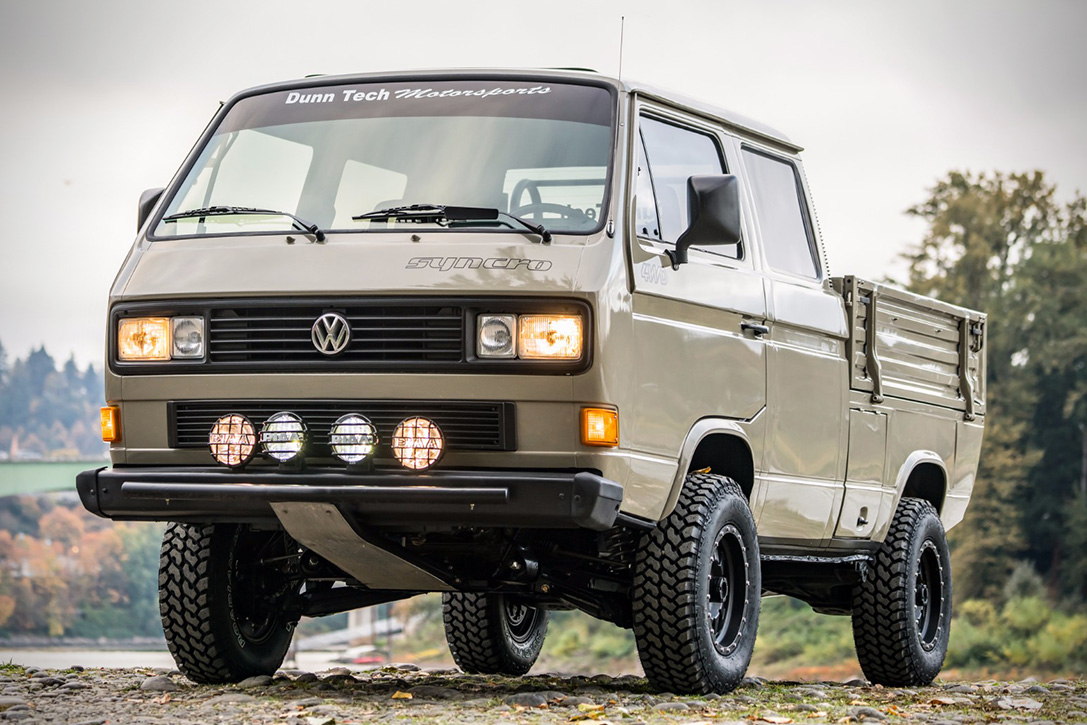 1989 volkswagen t3 doka syncro hiconsumption. Black Bedroom Furniture Sets. Home Design Ideas