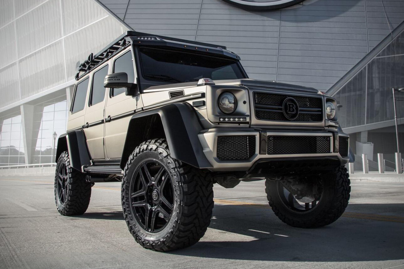 2017 mercedes benz g550 brabus 4x4 squared hiconsumption. Black Bedroom Furniture Sets. Home Design Ideas