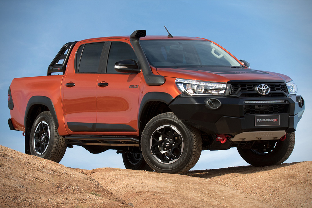 2018 Toyota HiLux Rugged X | HiConsumption