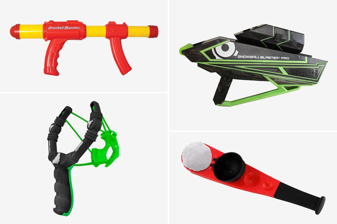 Nerf snowball gun