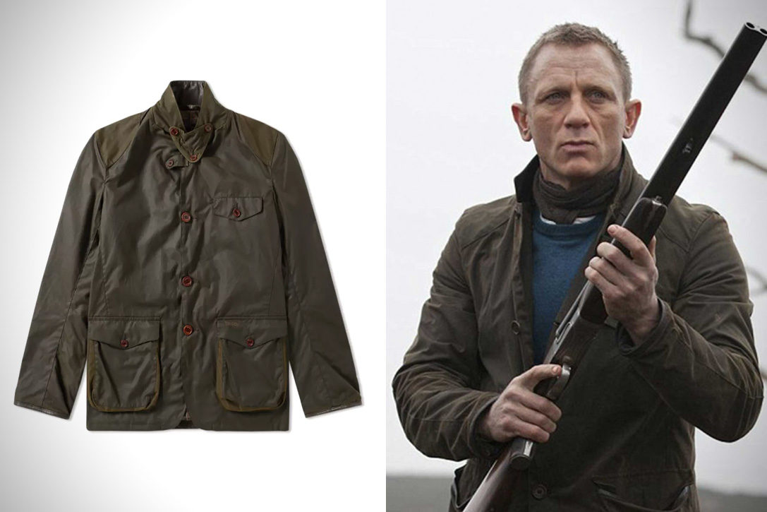 80afdf0bc30be Bond's Skyfall Barbour Jacket | HiConsumption