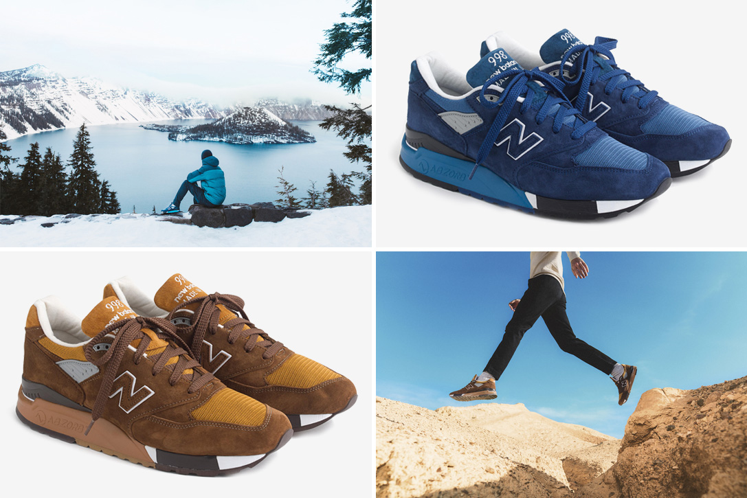 huge selection of f8b06 ac558 J.Crew X New Balance National Park Sneaker Pack | HiConsumption