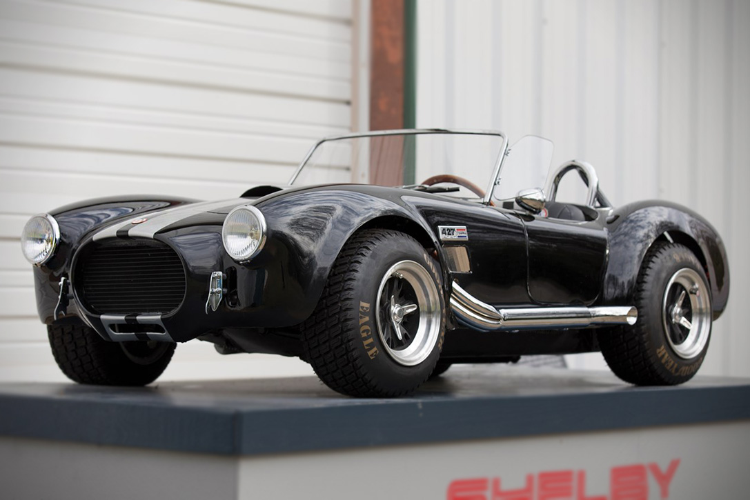 Auction block shelby 427 cobra childrens car hiconsumption