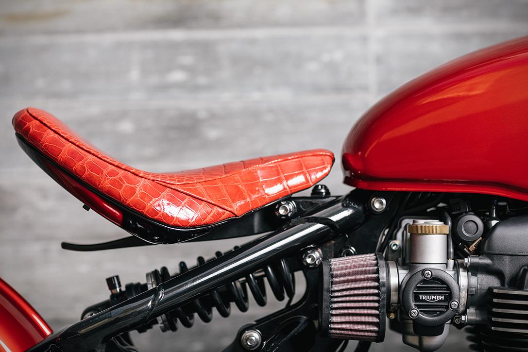 2017 Triumph Bonneville Bobber By Modification Motorcycles