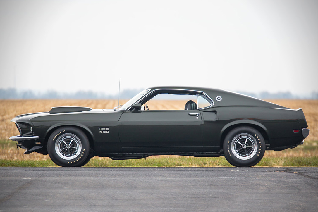 auction block 1969 ford mustang boss 429 fastback hiconsumption. Black Bedroom Furniture Sets. Home Design Ideas