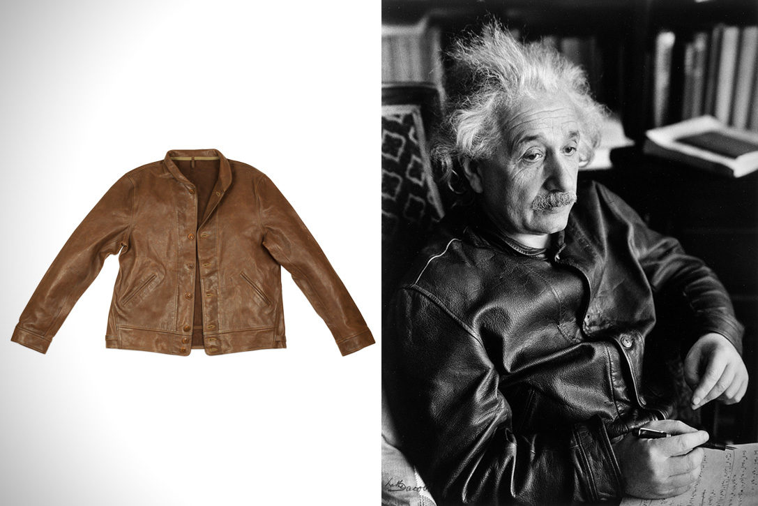 Albert Einstein S Levi S Menlo Cossack Jacket Hiconsumption