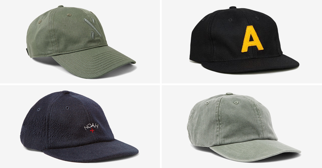 Non fitted vintage baseball caps