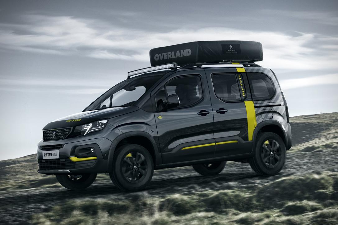 Peugeot Rifter 4x4 Adventure Van Concept Hiconsumption