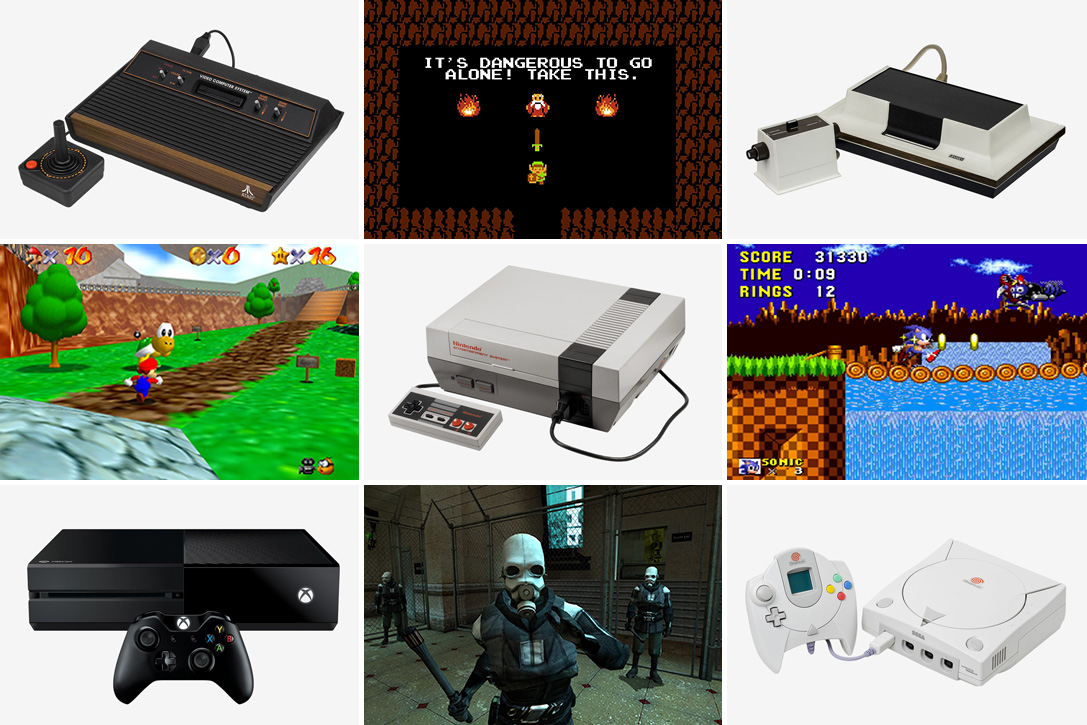 games and consoles.