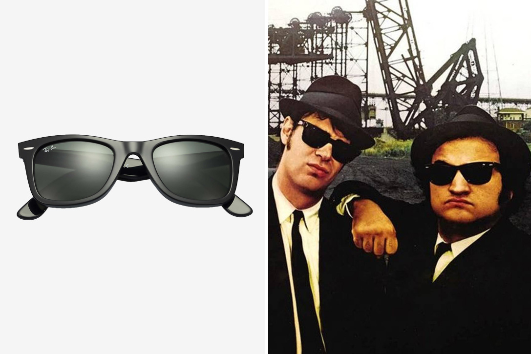 25e32b6df39 Blues Brothers. Ray Ban Original Wayfarer Classics