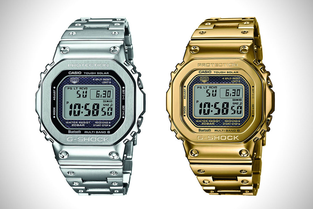 new product cafe3 d602d Casio G-Shock GMW-B 5000 Full Metal Edition | HiConsumption