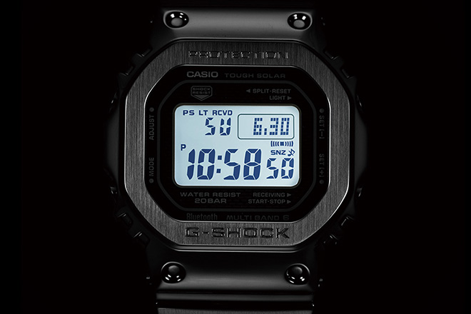 Casio G Shock Gmw B 5000 Full Metal Edition Hiconsumption