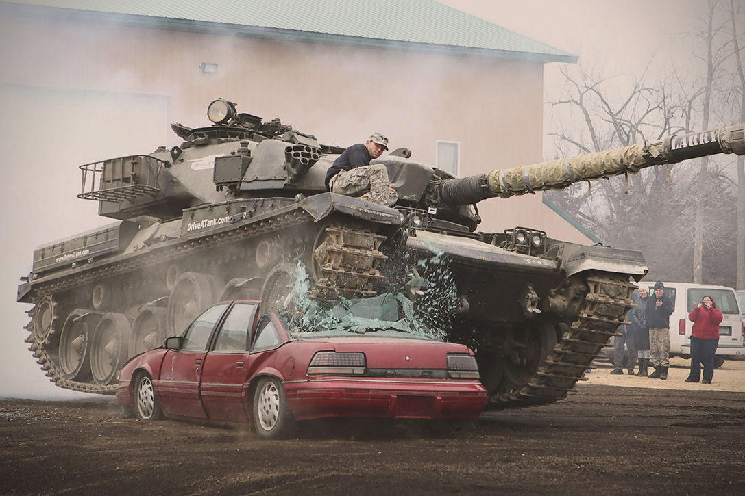 drive tank experience through war machine crash cars hiconsumption command structures lets purchase
