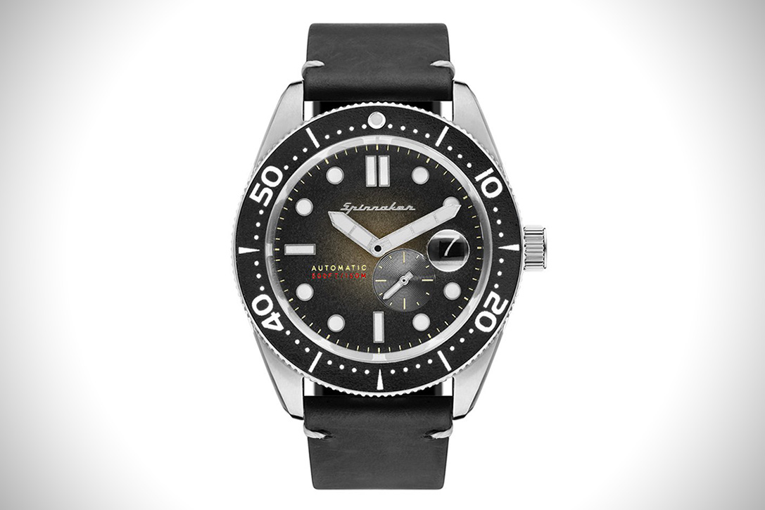 Spinnaker croft automatic dive watch hiconsumption for Under water watches