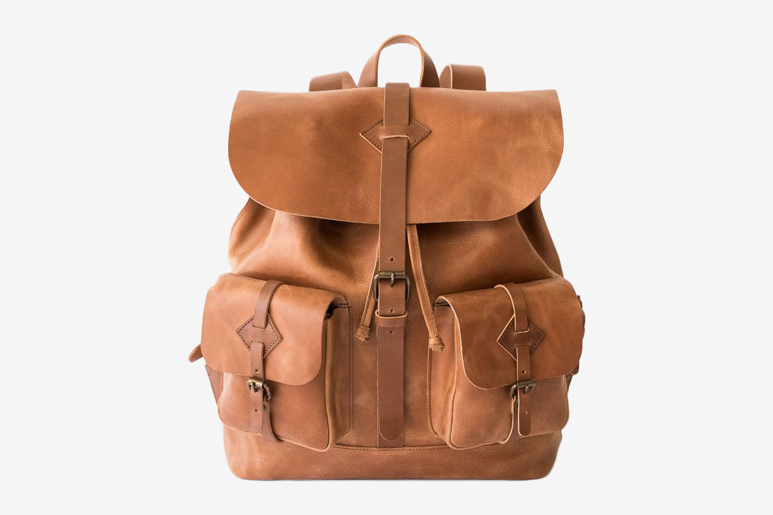 0e0b1b387a3 Well Tanned  15 Best Leather Backpacks   HiConsumption