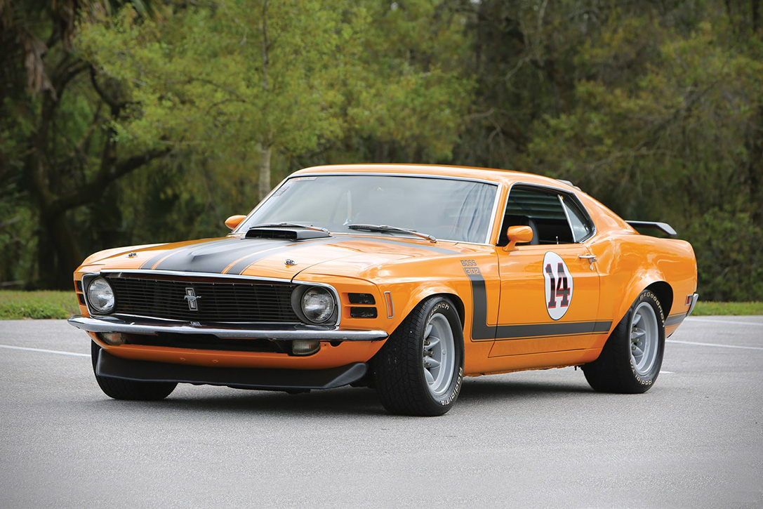auction block 1970 ford mustang boss 302 hiconsumption